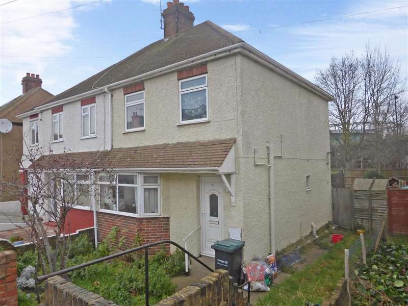 3 Bedrooms Semi Detached House for sale in Suffolk Road, Gravesend, Kent