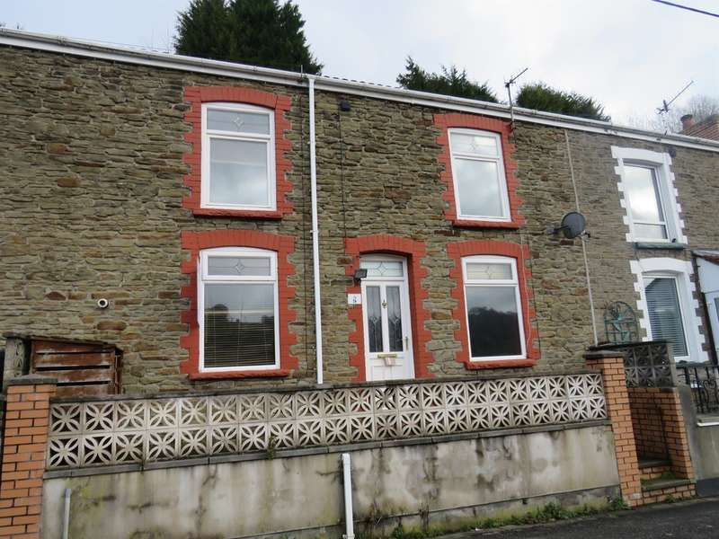 2 Bedrooms Terraced House for sale in Maesycnew Terrace, Llanhilleth, Abertillery