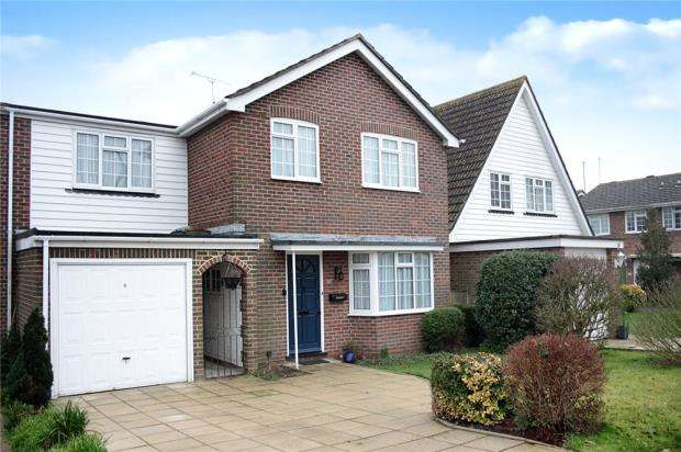 4 Bedrooms Link Detached House for sale in Chantryfield Road, Angmering, West Sussex, BN16