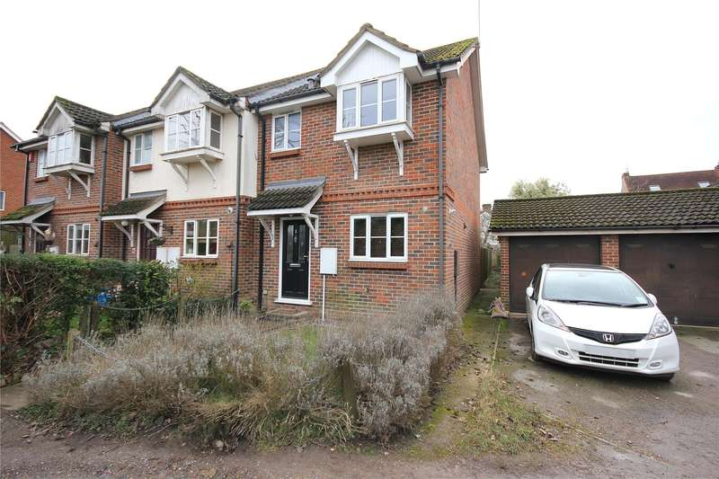 3 Bedrooms End Of Terrace House for sale in Scotts Court, Stockers Lane, Woking, Surrey, GU22