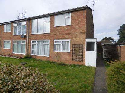2 Bedrooms Maisonette Flat for sale in Conifer Rise, Westone, Northampton, Northamptonshire