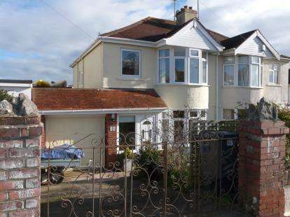 3 Bedrooms Semi Detached House for sale in Preston, Paignton, Devon
