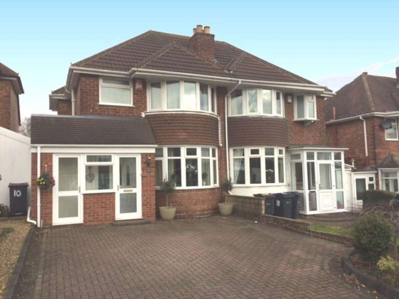 3 Bedrooms Semi Detached House for sale in Rowan Road, Sutton Coldfield, B72 1NN