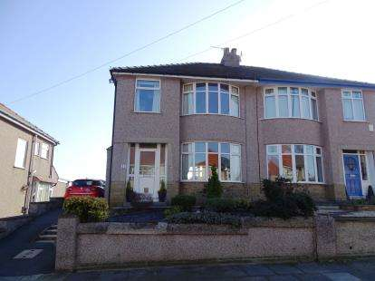3 Bedrooms Semi Detached House for sale in Lowther Avenue, Morecambe, LA3