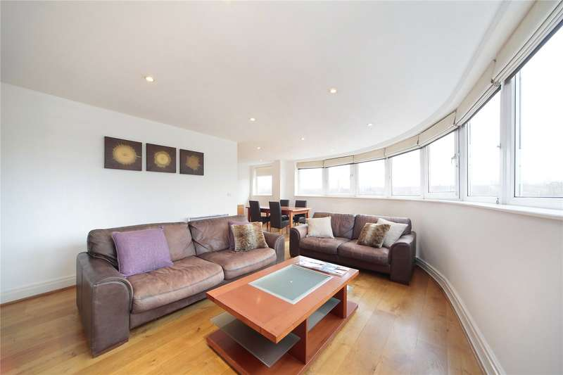 3 Bedrooms Flat for sale in Omega Building, Smugglers Way, London, SW18