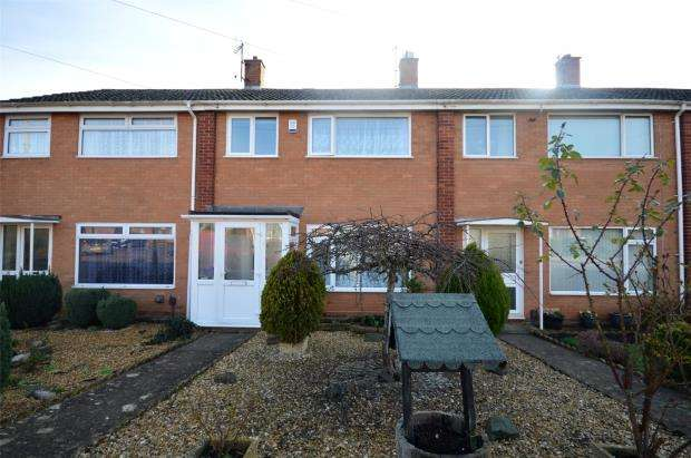 3 Bedrooms Terraced House for sale in Wentworth Gardens, Exeter, Devon