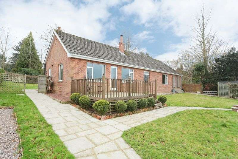 3 Bedrooms Detached Bungalow for sale in Bratton, Wiltshire, BA13 4RD