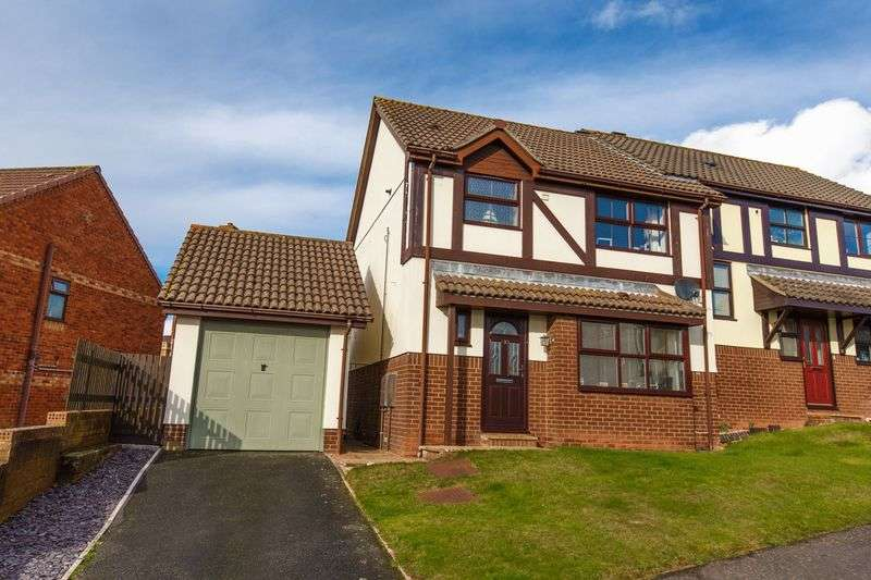 3 Bedrooms Semi Detached House for sale in Avranches Avenue, Crediton