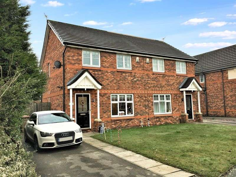 3 Bedrooms Semi Detached House for sale in Highmarsh Crescent, Newton-Le-Willows