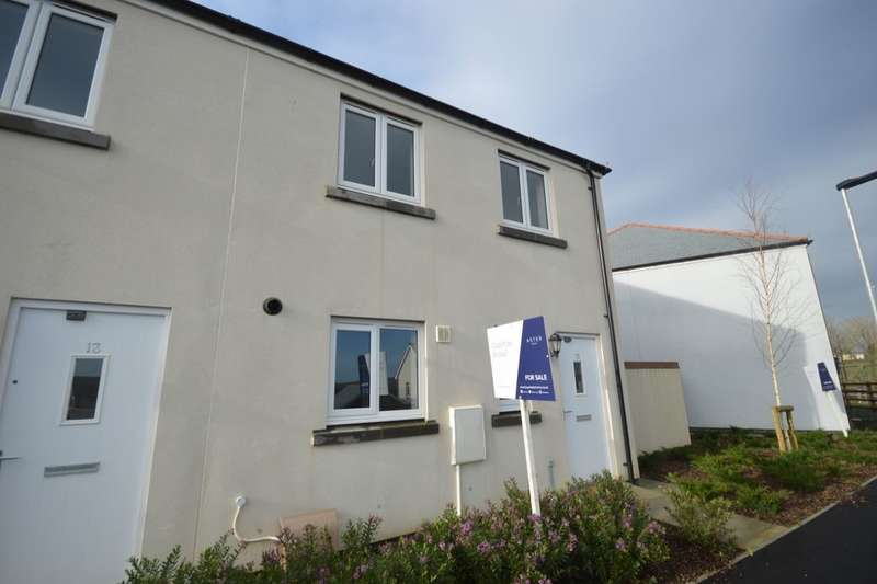 3 Bedrooms Semi Detached House for sale in Trevethan Meadows, Carlton Way, Liskeard, PL14