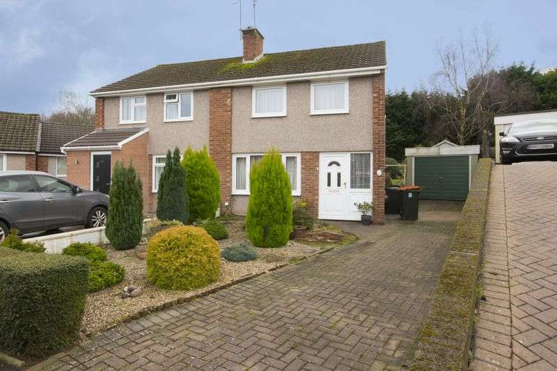 3 Bedrooms Semi Detached House for sale in Robertson Way, Newport