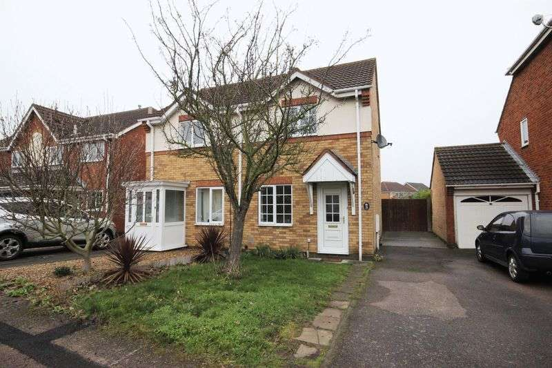 2 Bedrooms Semi Detached House for sale in Prudden Close, Elstow, Bedford