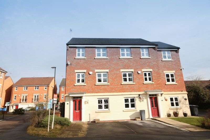 4 Bedrooms Terraced House for sale in BADGERDALE WAY, LITTLEOVER.