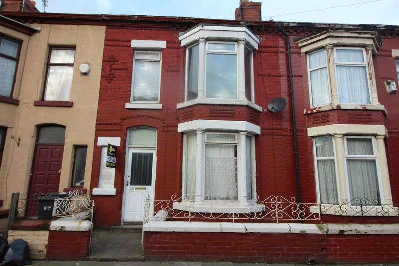 3 Bedrooms Terraced House for sale in Spenser Street, Bootle
