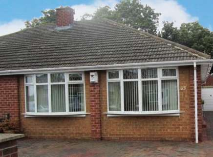 2 Bedrooms Semi Detached Bungalow for sale in Regency Avenue, Middlesbrough, Cleveland, TS6 0QH