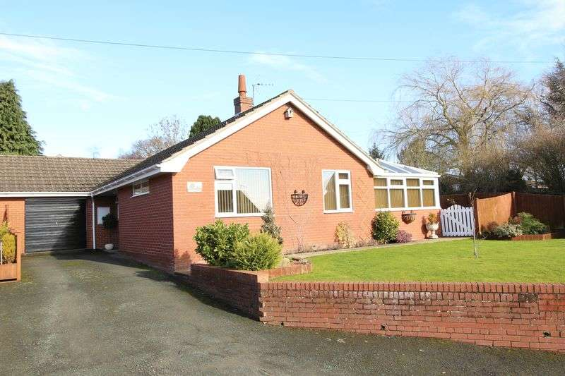 3 Bedrooms Semi Detached Bungalow for sale in Oakwood,Tetchill, Ellesmere