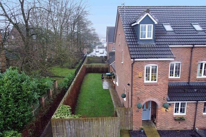 3 Bedrooms Semi Detached House for sale in Tilling Drive, Stone, Staffordshire