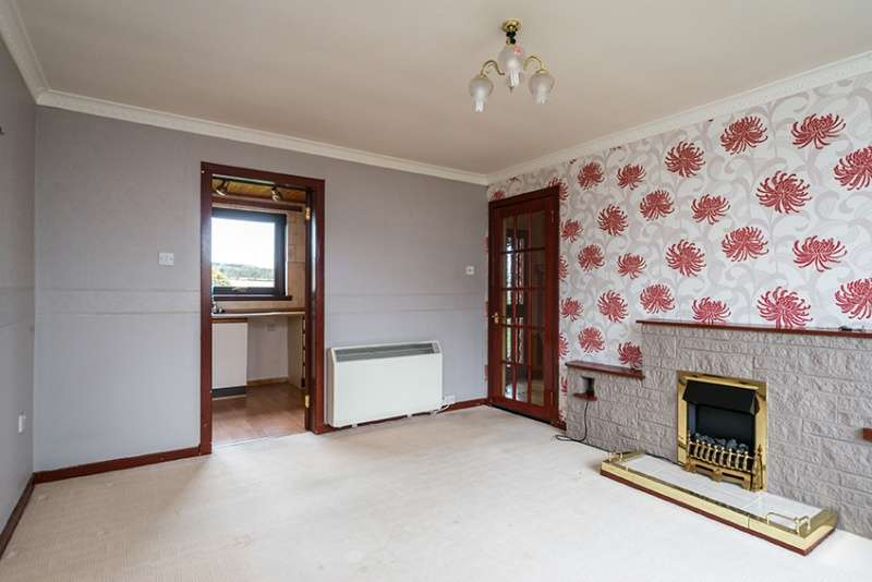 1 Bedroom Semi Detached Bungalow for sale in Law View, Preston, Duns, TD11 3TH