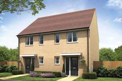 2 Bedrooms Semi Detached House for sale in Milton Keynes, Buckinghamshire