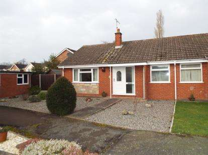 2 Bedrooms Bungalow for sale in Brine Road, Nantwich, Cheshire