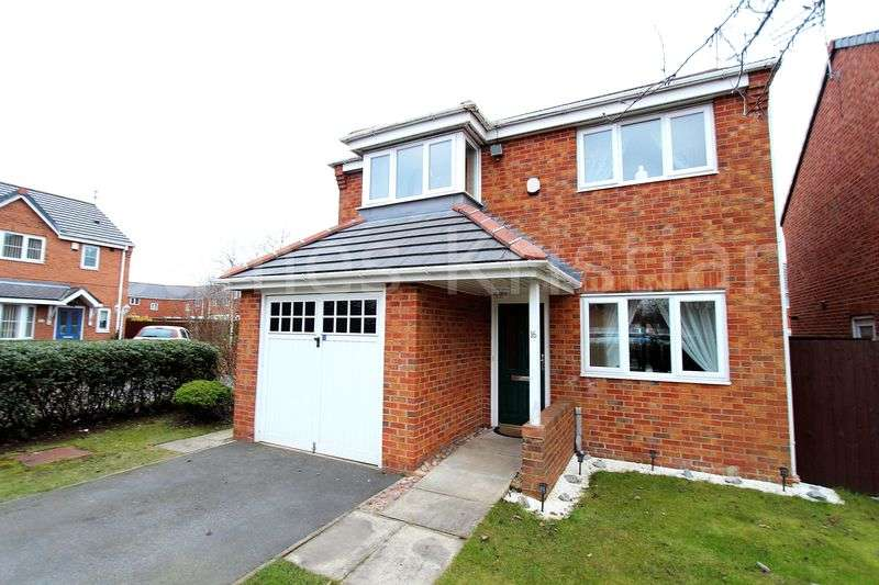 3 Bedrooms Detached House for sale in Cullen Drive, Liverpool