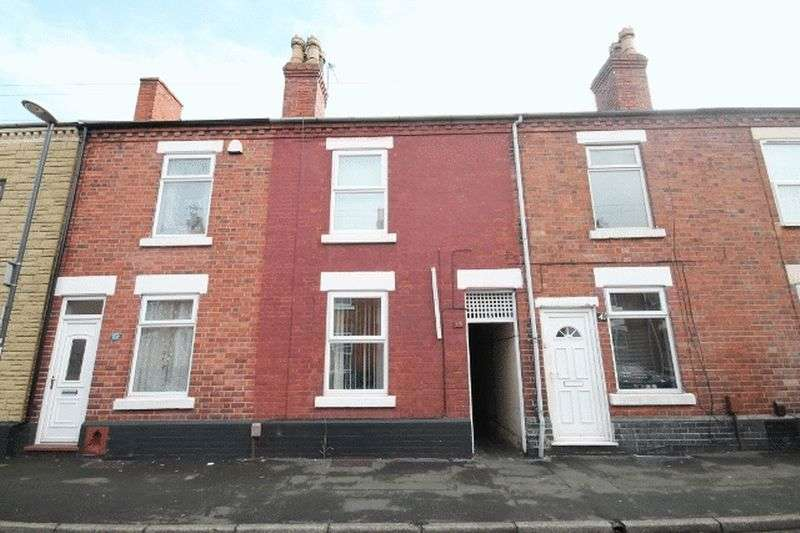 3 Bedrooms Terraced House for sale in Hall Street, Derby