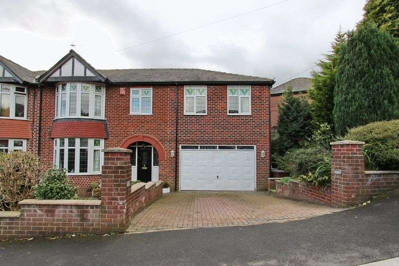 5 Bedrooms Semi Detached House for sale in Woodhill Grove, Prestwich, Manchester