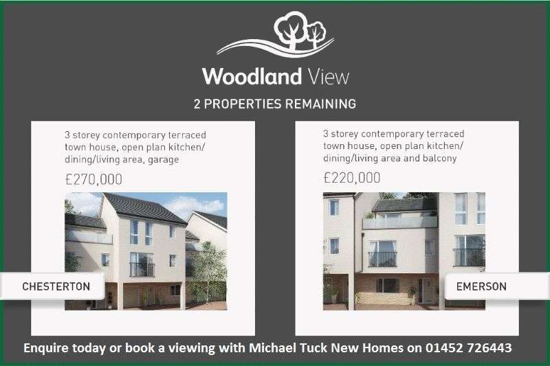 3 Bedrooms Terraced House for sale in Woodland View, Mitcheldean