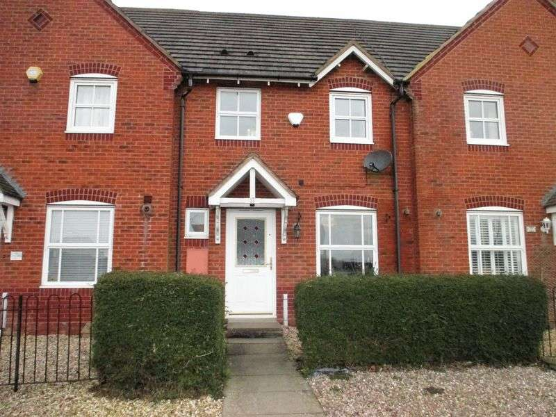 3 Bedrooms Terraced House for sale in Rowallen Way, Daventry, NN11 9BS