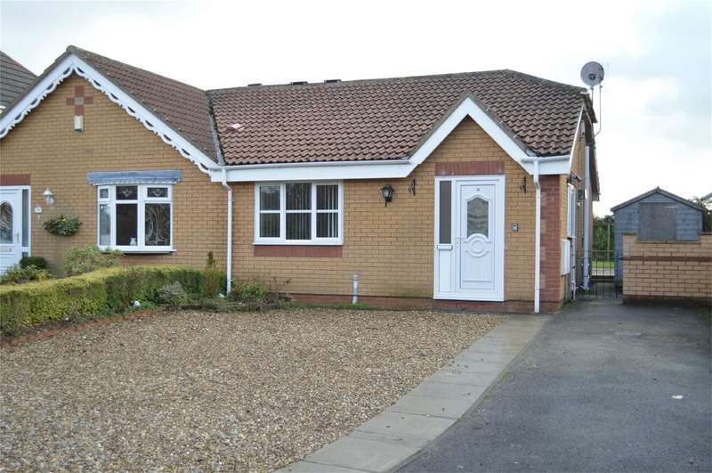 2 Bedrooms Semi Detached Bungalow for sale in 34 Tansley Lane, Hornsea, East Yorkshire