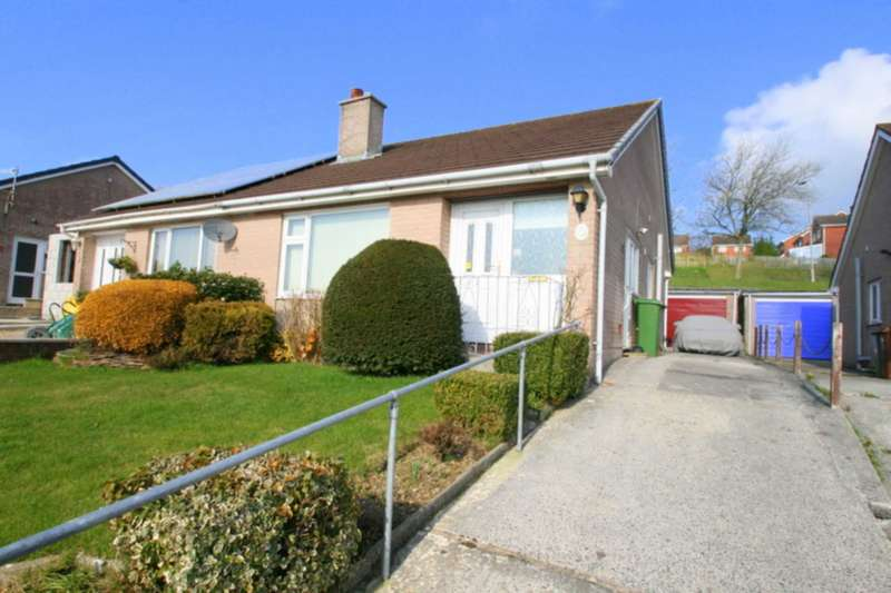 2 Bedrooms Semi Detached Bungalow for sale in Yealmpstone Drive, Plymouth