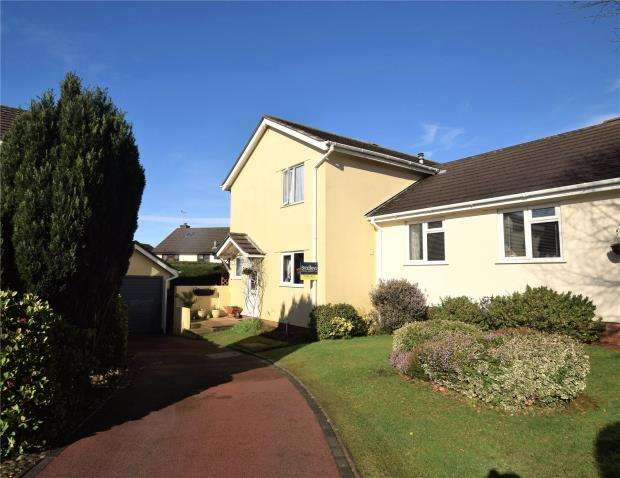 3 Bedrooms Semi Detached House for sale in Bridle Close, Hookhills, Paignton, Devon