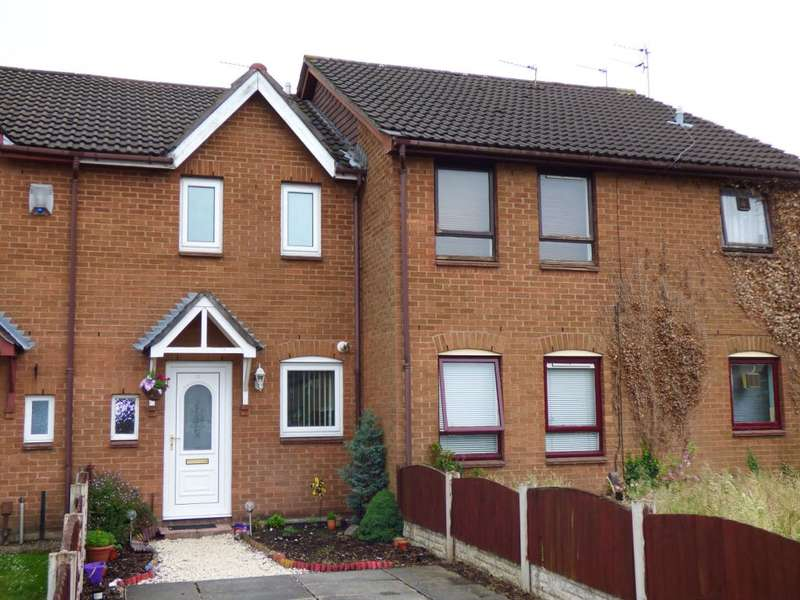 2 Bedrooms Terraced House for sale in Rainbow Drive, Halewood, Liverpool, L26 7AG