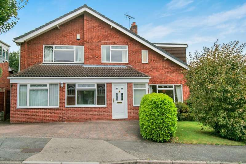 4 Bedrooms Detached House for sale in St. Michaels Drive, Appleby Magna, Swadlincote, DE12 7AE