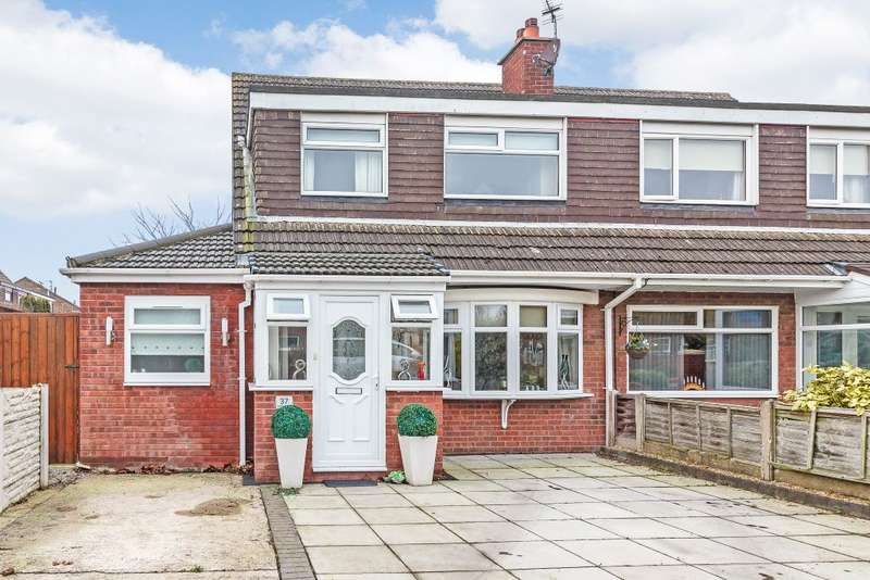 4 Bedrooms Semi Detached House for sale in Glencoyne Drive, Southport, Merseyside, PR9 9TT