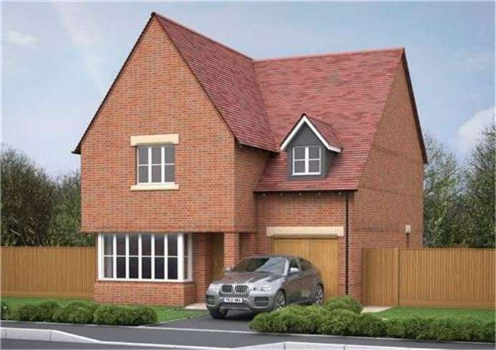 4 Bedrooms Detached House for sale in Plot 64, Victoria Heights, Melbourn