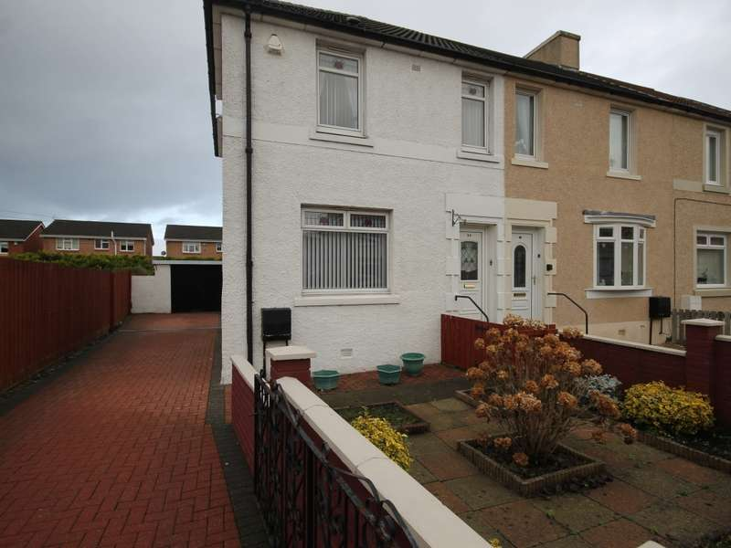 3 Bedrooms End Of Terrace House for sale in 24 Curlinghaugh Crescent, Wishaw, ML2 8JR