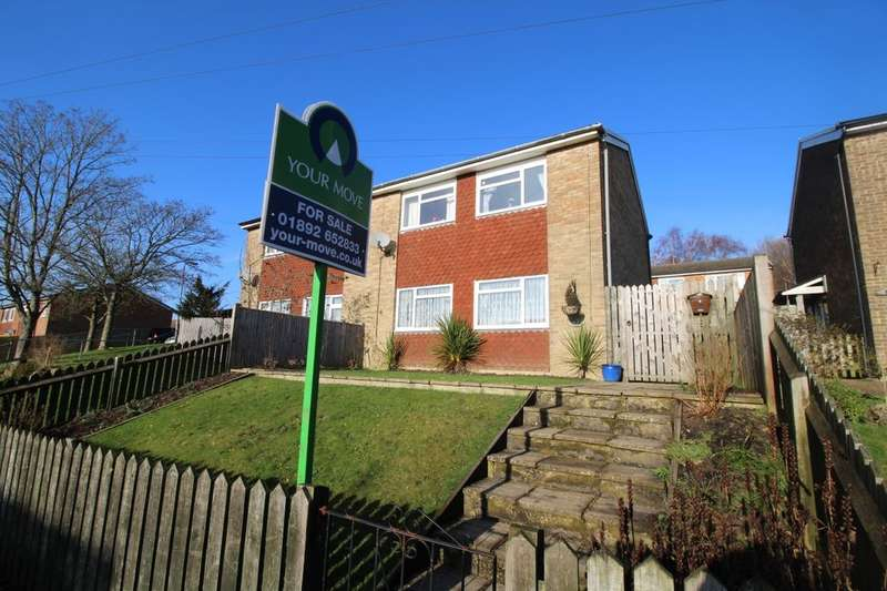 3 Bedrooms Semi Detached House for sale in Heather Walk, Crowborough, TN6