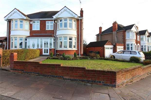 3 Bedrooms Semi Detached House for sale in Kingsbury Road, Coundon, Coventry