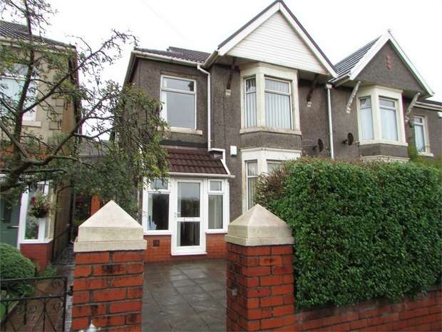 5 Bedrooms Semi Detached House for sale in Park View, Taibach, Port Talbot, West Glamorgan