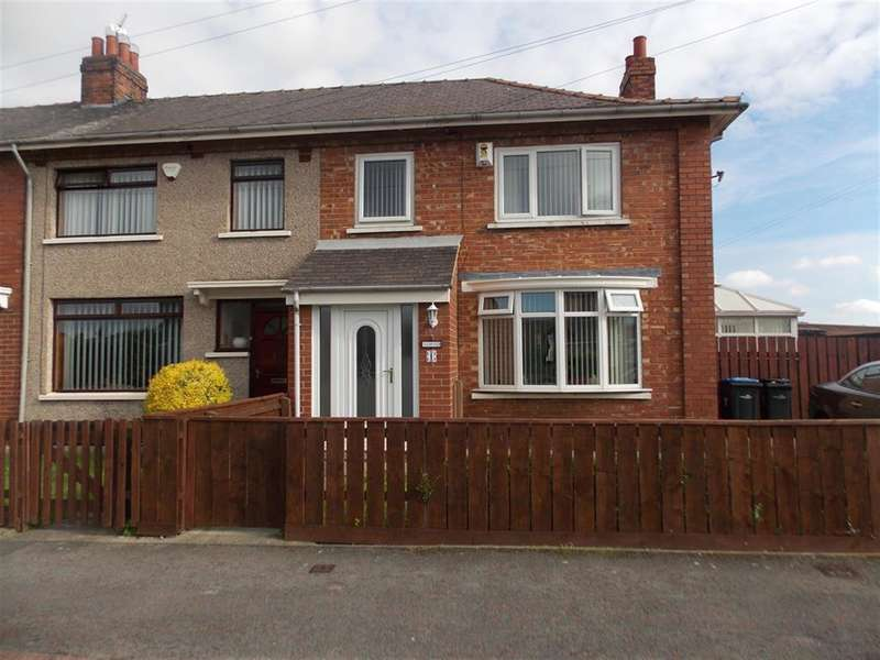 3 Bedrooms End Of Terrace House for sale in Fakenham Avenue, Middlesbrough, TS5 4QG