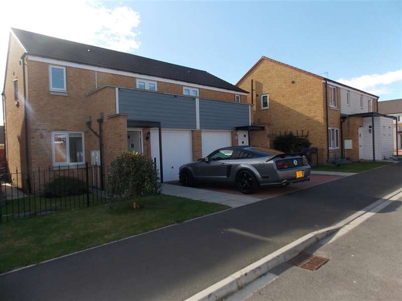 3 Bedrooms Semi Detached House for sale in Crimdon Beck Close, Stockton-on-Tees, TS18 2QH