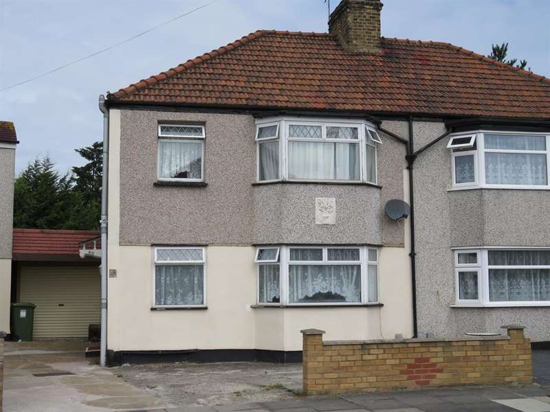 3 Bedrooms Semi Detached House for sale in Westbrooke Crescent, Welling, Kent, DA16 1PU