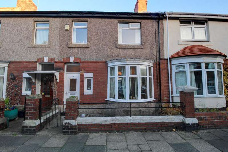 3 Bedrooms Terraced House for sale in Ashleigh Grove, Fulwell, Sunderland, SR6 9EF