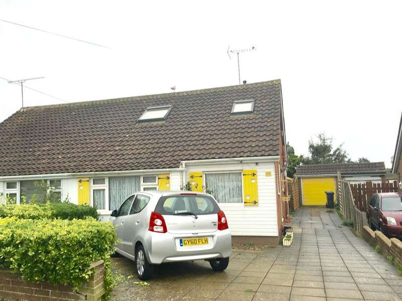 2 Bedrooms Semi Detached House for sale in Moorfoot Road, Durrington, Worthing, BN13 2EY