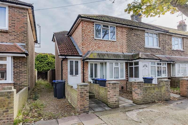 1 Bedroom Ground Maisonette Flat for sale in St Anselms Road, Worthing, West Sussex, BN14 7EN