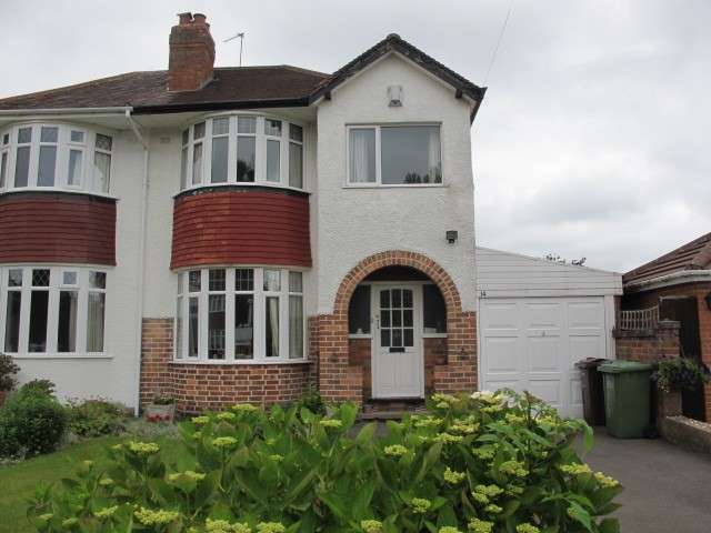 3 Bedrooms Semi Detached House for sale in Wells Green Road, Solihull