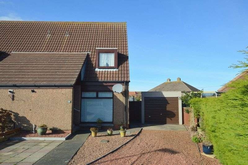 2 Bedrooms Semi Detached House for sale in Stott Court, Tweedmouth, Berwick-Upon-Tweed