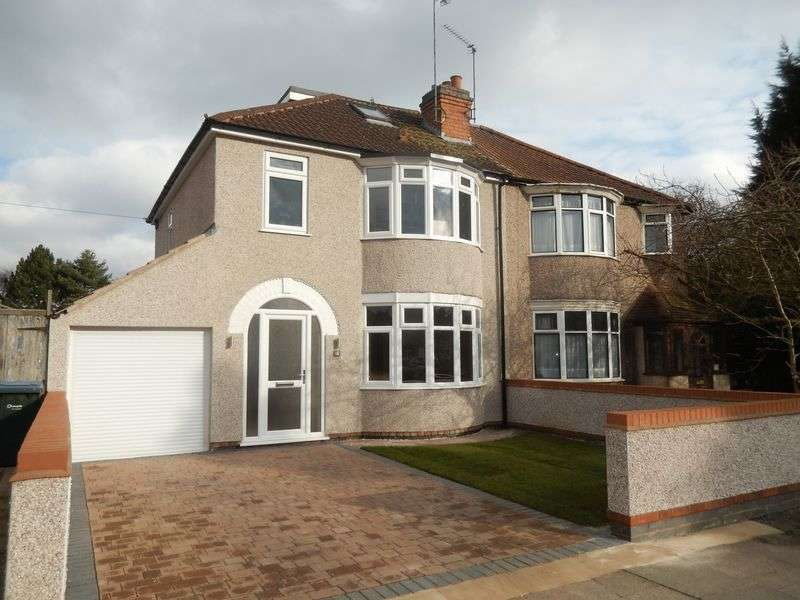 4 Bedrooms Semi Detached House for sale in Ash Tree Avenue, Tile Hill, Coventry, CV4 9FQ