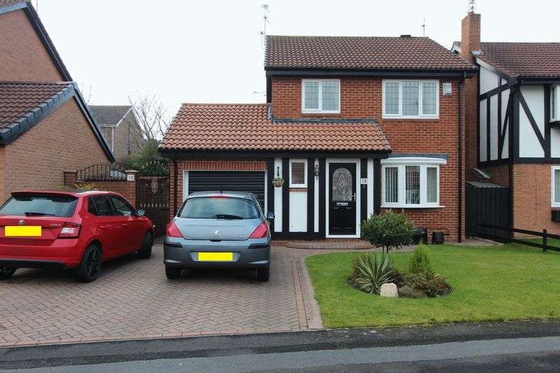 3 Bedrooms Detached House for sale in Bordeaux Close, Doxford, Sunderland